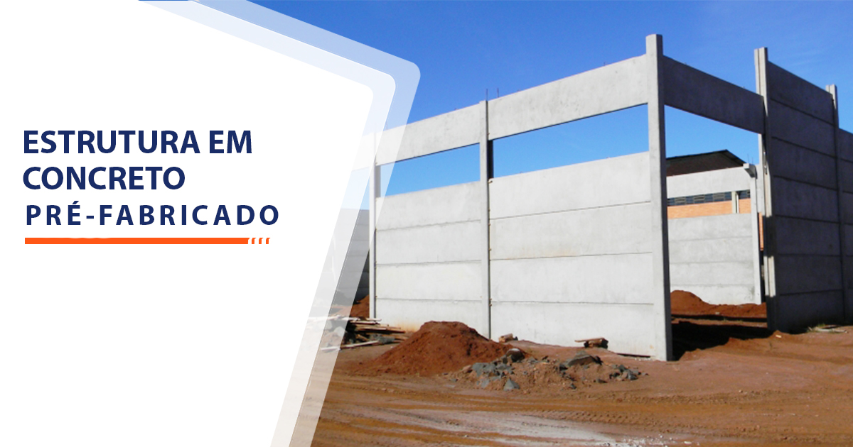 Estrutura de Concreto pré-fabricado