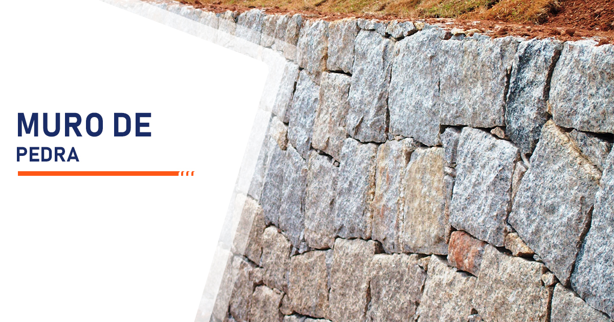 Construção de Muro de Pedra