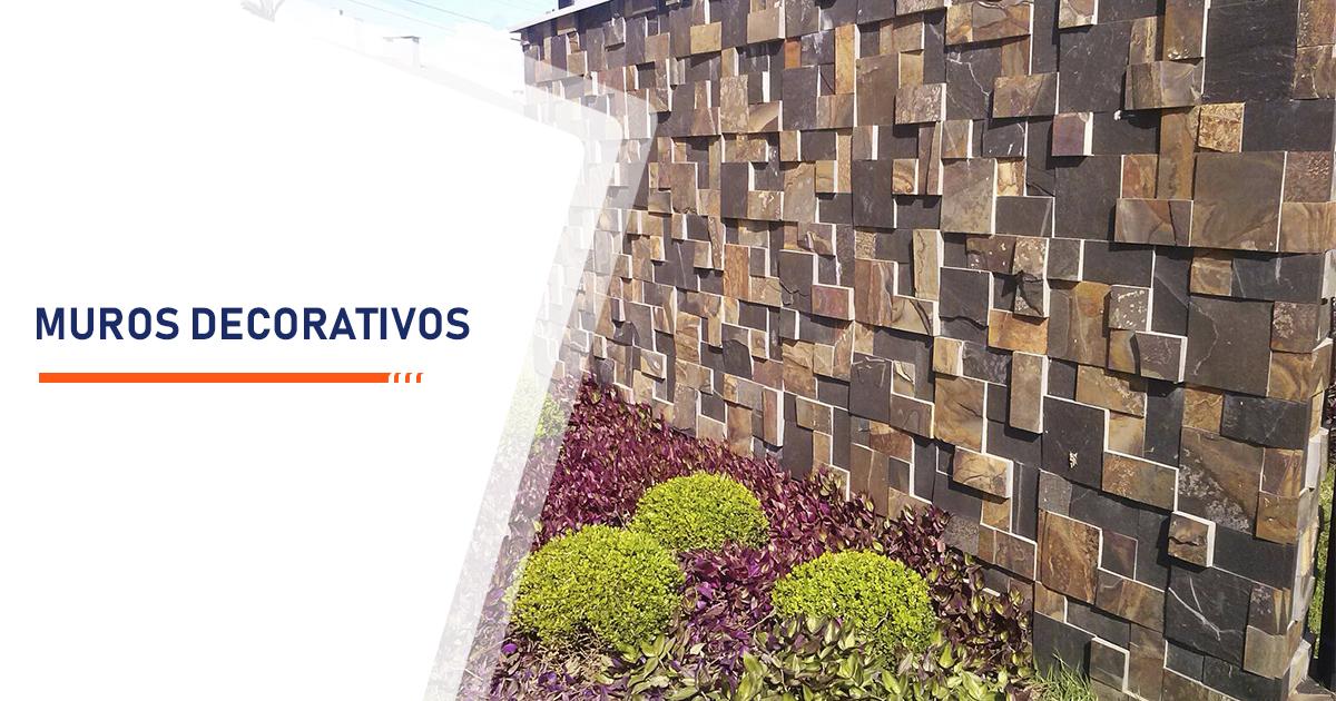 Construção de Muros Decorativos