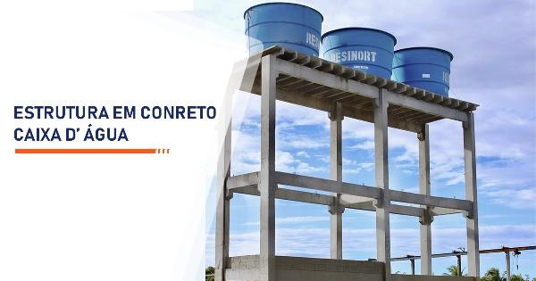 Estrutura de Concreto para Caixa d Água  Sorocaba