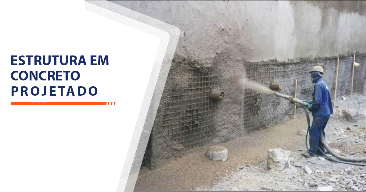 Estrutura de Concreto projetado Sorocaba