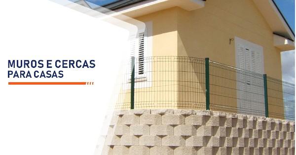 Muros e Cercas para Casas Sorocaba