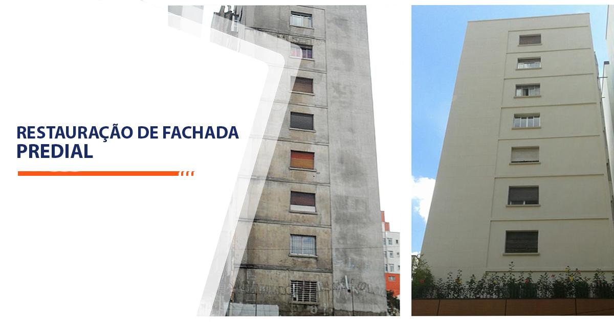 Restauração de Fachada Predial Sorocaba